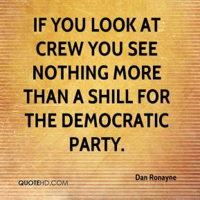 If you look at CREW you see nothing more than a shill for the Democratic Party.