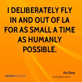 I deliberately fly in and out of LA for as small a time as humanly possible.