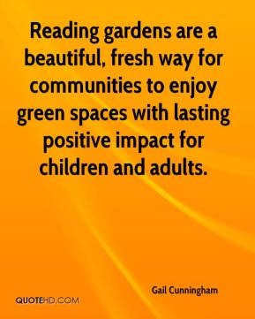 Reading gardens are a beautiful, fresh way for communities to enjoy green spaces with lasting positive impact for children and adults.