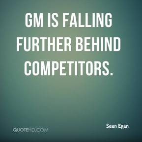 GM is falling further behind competitors.