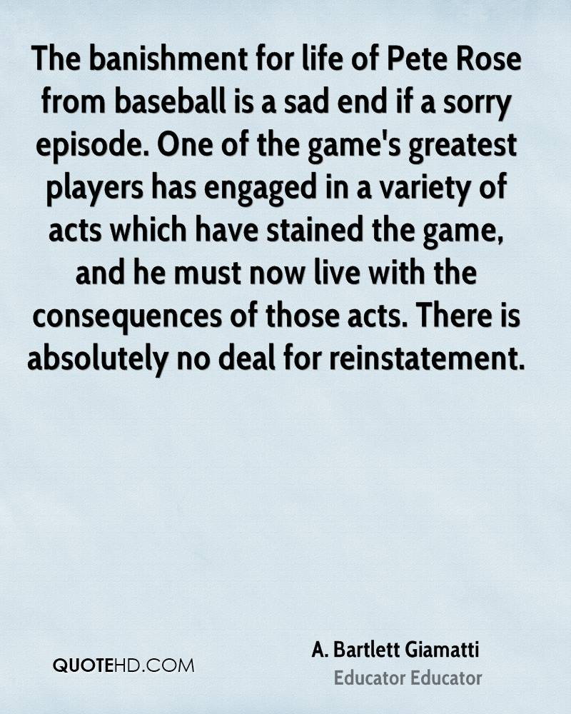 Baseball Quotes About Life Abartlett Giamatti Life Quotes  Quotehd
