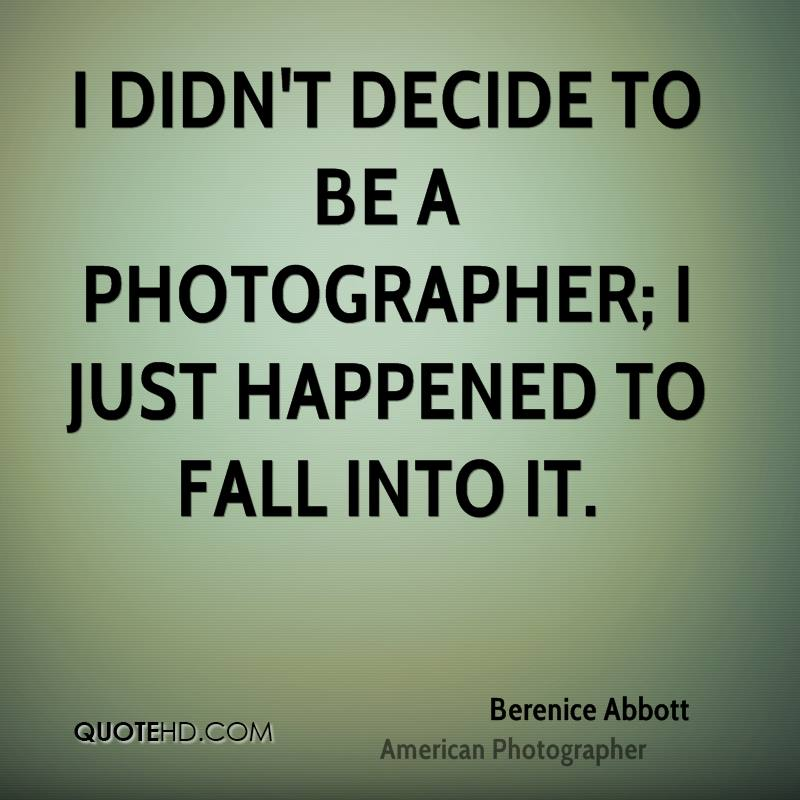 Berenice Abbott Photography Quotes QuoteHD Fascinating Photographer Quotes