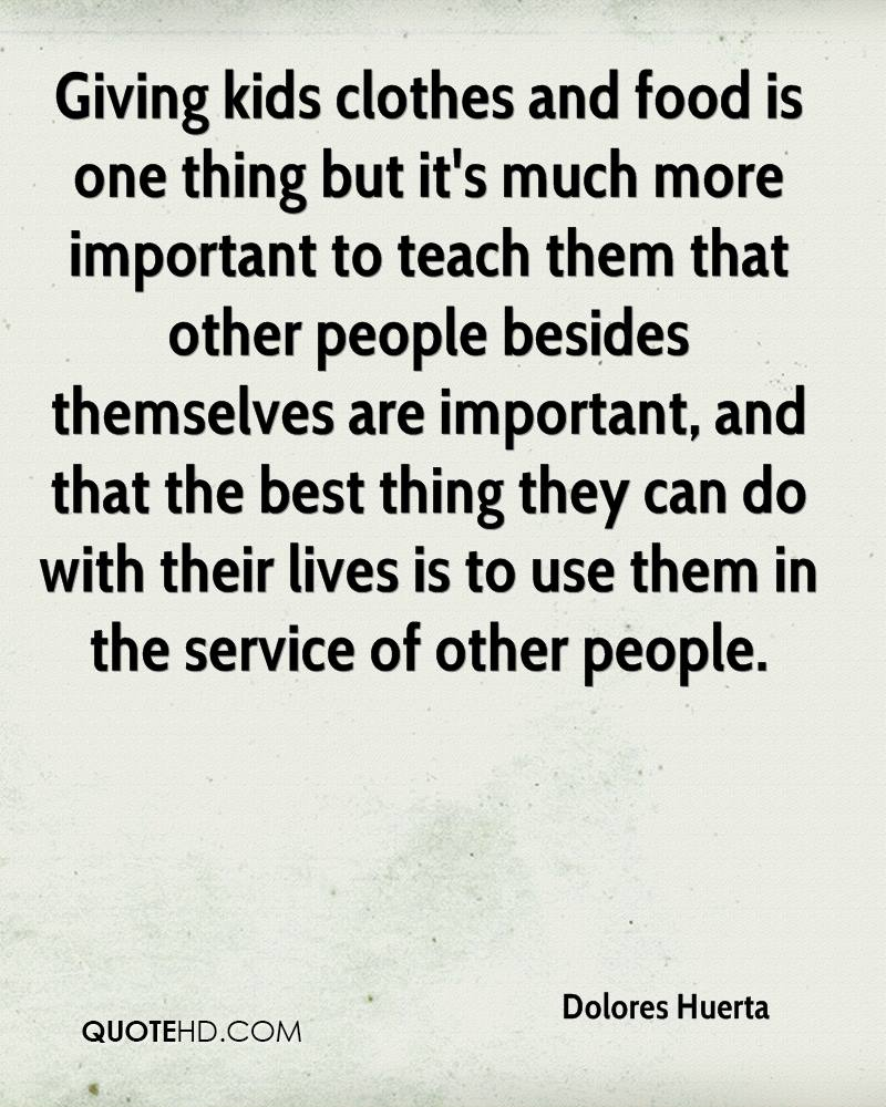 Quotes About Giving | Dolores Huerta Quotes Quotehd
