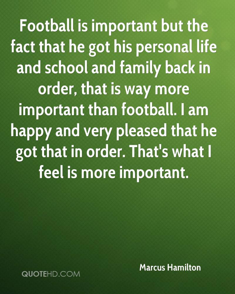 Football is more important 90