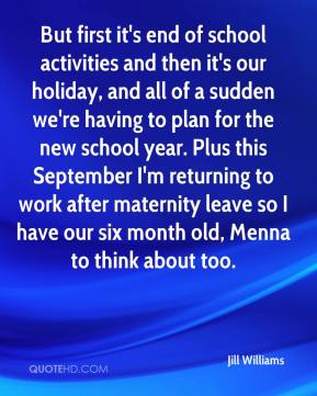 But first it's end of school activities and then it's our holiday, and all of a sudden we're having to plan for the new school year. Plus this September I'm returning to work after maternity leave so I have our six month old, Menna to think about too.