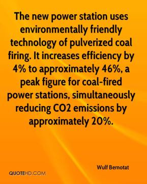 The new power station uses environmentally friendly technology of pulverized coal firing. It increases efficiency by 4% to approximately 46%, a peak figure for coal-fired power stations, simultaneously reducing CO2 emissions by approximately 20%.
