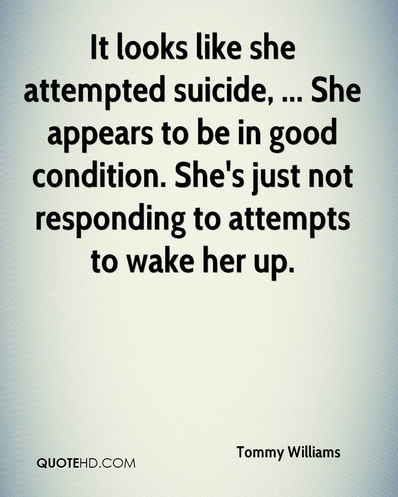 Suicide Quote Tommy Williams Quotes  Quotehd