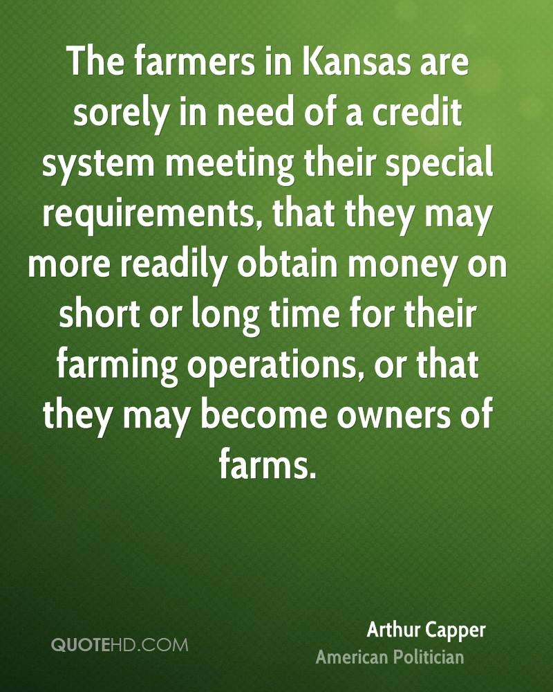 Farmers Quote Arthur Capper Quotes  Quotehd