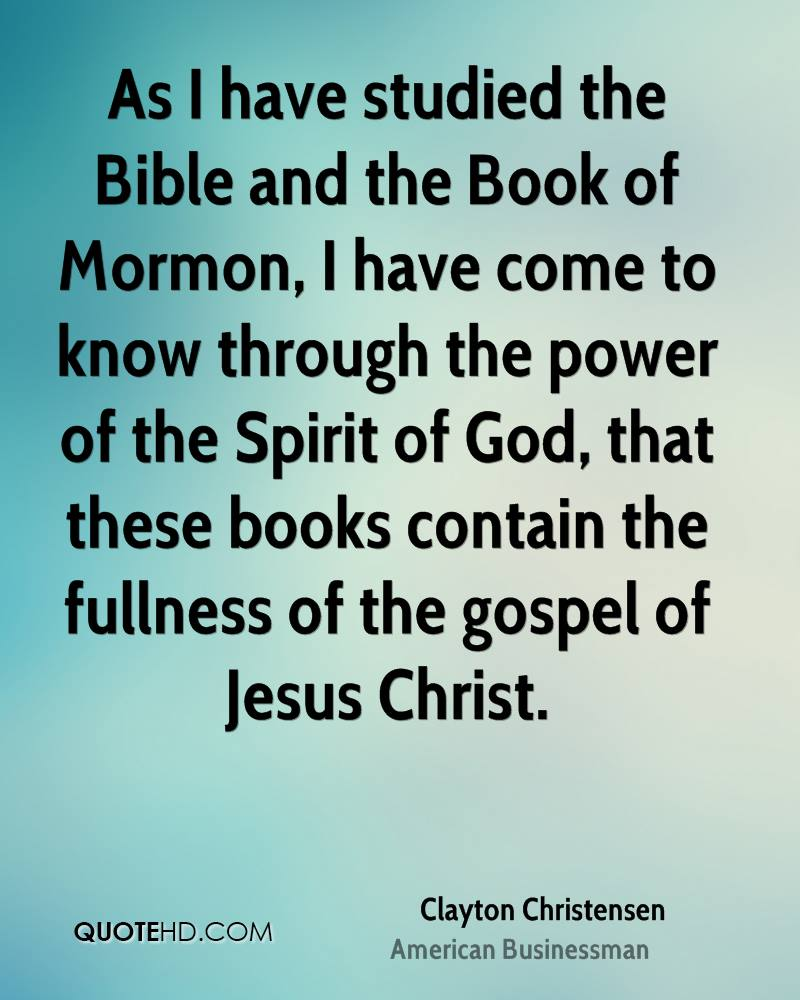 Inspirational Book Of Mormon Quotes: Famous Quotes Book Of Mormon. QuotesGram