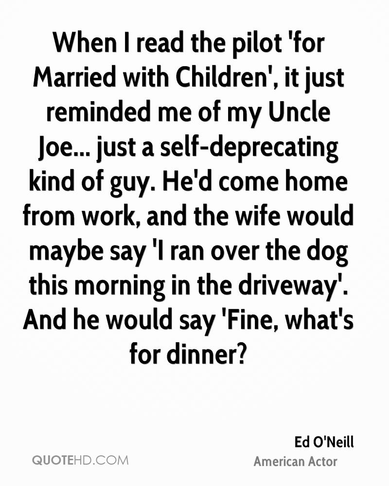 Just Married Quotes Ed O'neill Marriage Quotes  Quotehd