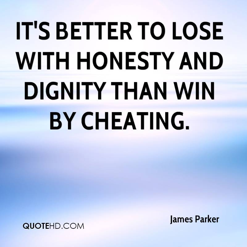 essay on honesty and dignity in sports Free integrity papers, essays and genuine concern for the players into the sports environment better essays: honesty, integrity.