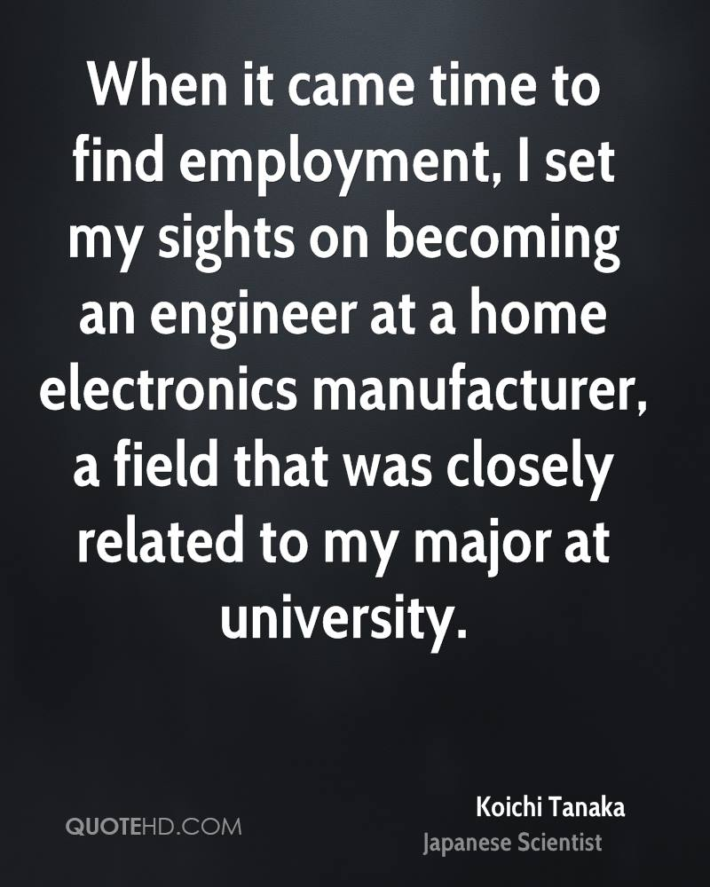 When it came time to find employment, I set my sights on becoming an engineer at a home electronics manufacturer, a field that was closely related to my major at university.