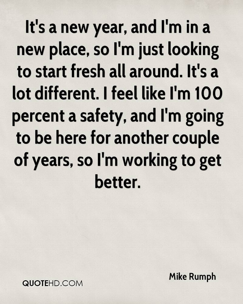 New Year Couple Quotes: Mike Rumph Quotes