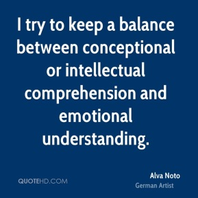 Alva Noto - I try to keep a balance between conceptional or intellectual comprehension and emotional understanding.