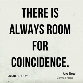 Alva Noto - There is always room for coincidence.
