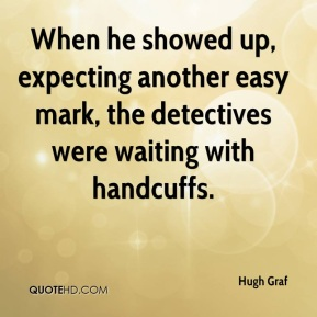 When he showed up, expecting another easy mark, the detectives were waiting with handcuffs.