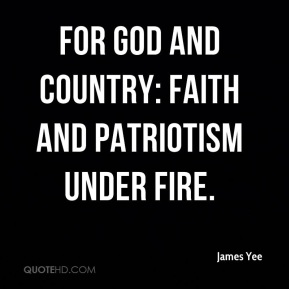 For God and Country: Faith and Patriotism Under Fire.