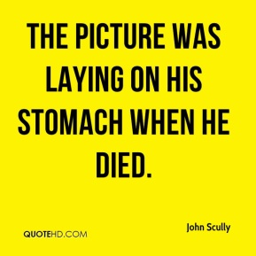 The picture was laying on his stomach when he died.