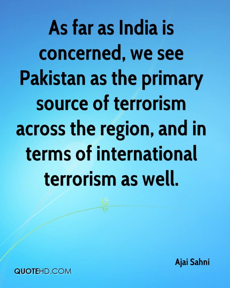 role of pakistan against terrorism essay