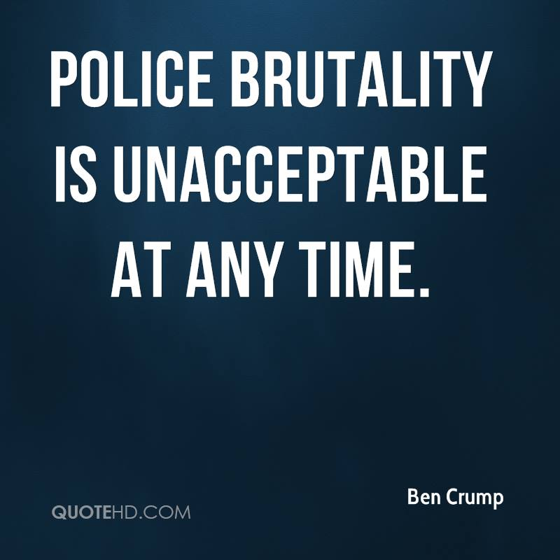 Police Brutality Quotes | Ben Crump Quotes Quotehd