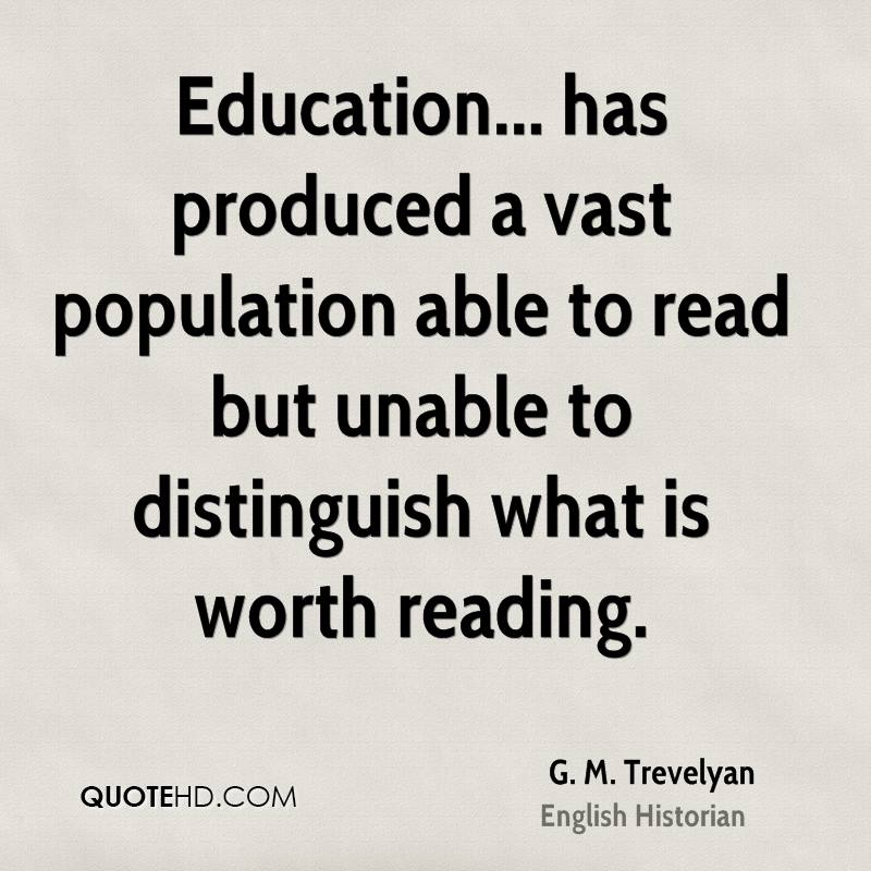 g m trevelyan education quotes quotehd