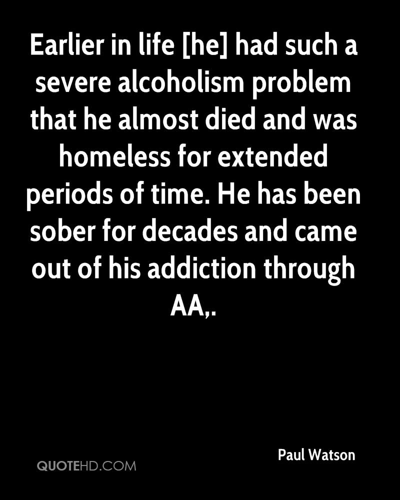 Alcoholism Quotes Paul Watson Quotes  Quotehd