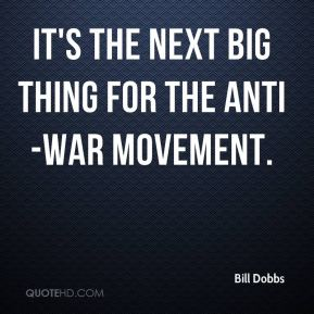 It's the next big thing for the anti-war movement.