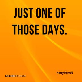 Harry Kewell - Just one of those days.