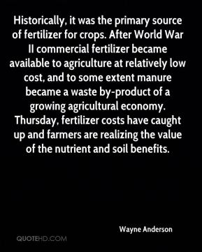 Historically, it was the primary source of fertilizer for crops. After World War II commercial fertilizer became available to agriculture at relatively low cost, and to some extent manure became a waste by-product of a growing agricultural economy. Thursday, fertilizer costs have caught up and farmers are realizing the value of the nutrient and soil benefits.