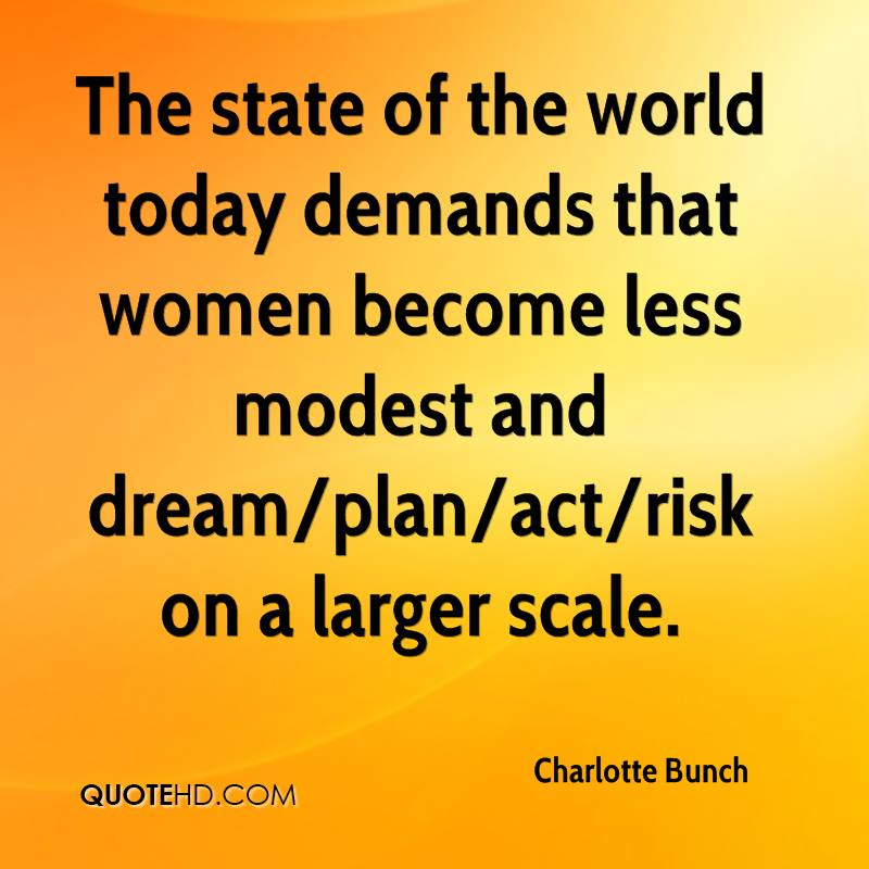 Charlotte Bunch Quotes | QuoteHD