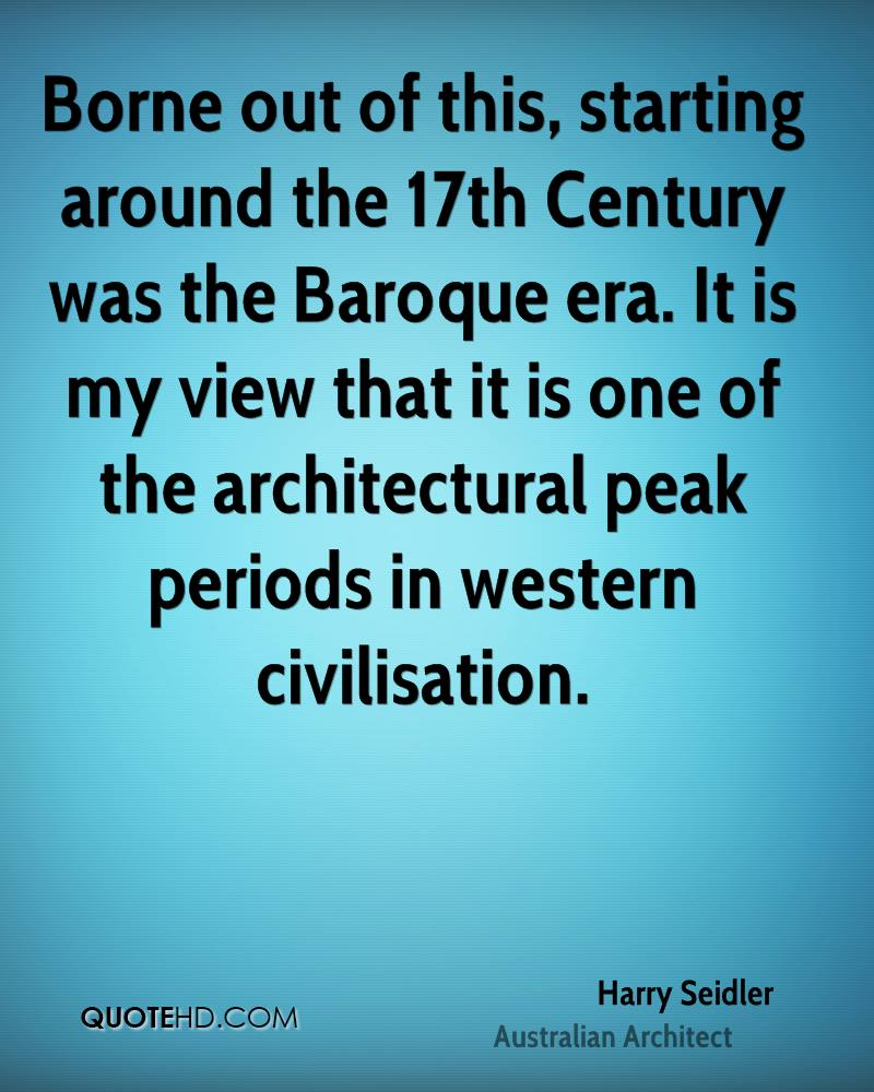 Borne out of this, starting around the 17th Century was the Baroque era. It is my view that it is one of the architectural peak periods in western civilisation.