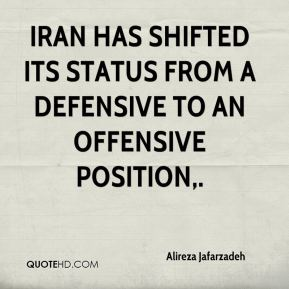 Alireza Jafarzadeh - Iran has shifted its status from a defensive to an offensive position.
