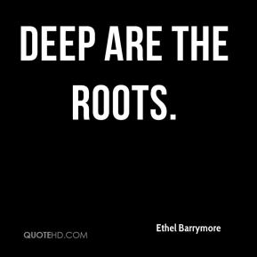 Deep Are the Roots.