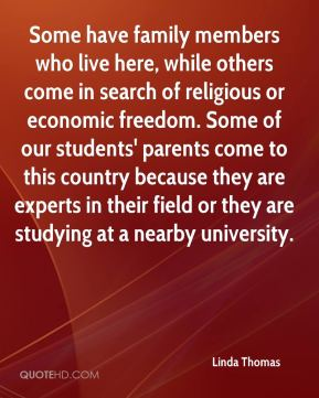 Some have family members who live here, while others come in search of religious or economic freedom. Some of our students' parents come to this country because they are experts in their field or they are studying at a nearby university.
