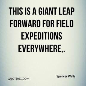 This is a giant leap forward for field expeditions everywhere.