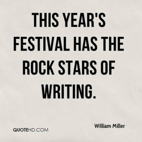 This year's festival has the rock stars of writing.