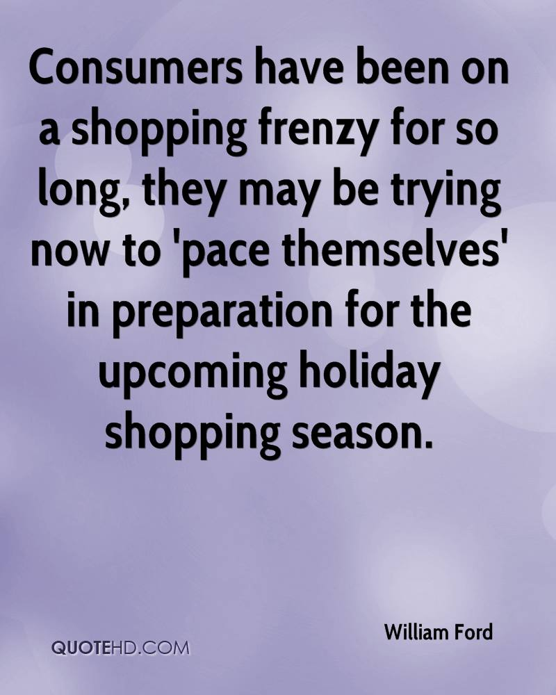 Consumers have been on a shopping frenzy for so long, they may be trying now to 'pace themselves' in preparation for the upcoming holiday shopping season.