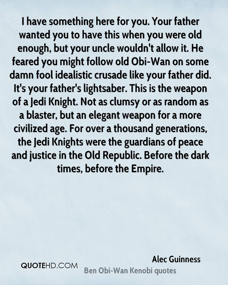Alec Guinness Quotes | QuoteHD