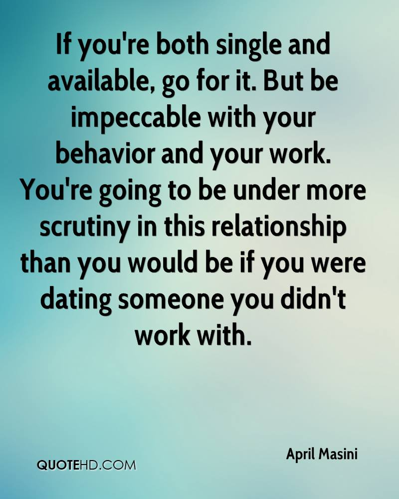 if you are dating someone are you still single