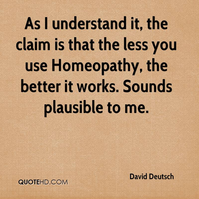 As I understand it, the claim is that the less you use Homeopathy, the better it works. Sounds plausible to me.