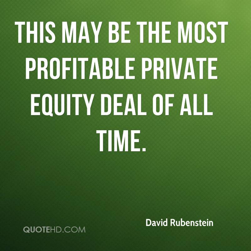 This may be the most profitable private equity deal of all time.