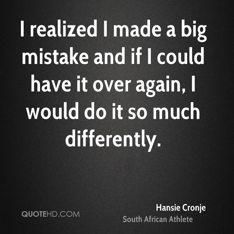 quotes about making a big mistake in relationship