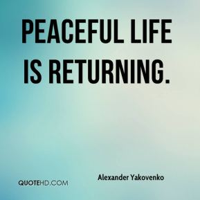 peaceful life quotes