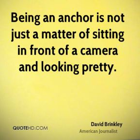 Being an anchor is not just a matter of sitting in front of a camera and looking pretty.