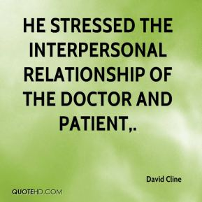 doctor patient relationship importance quotes