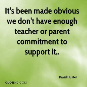 It's been made obvious we don't have enough teacher or parent commitment to support it.