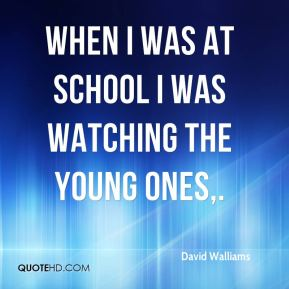 When I was at school I was watching The Young Ones.