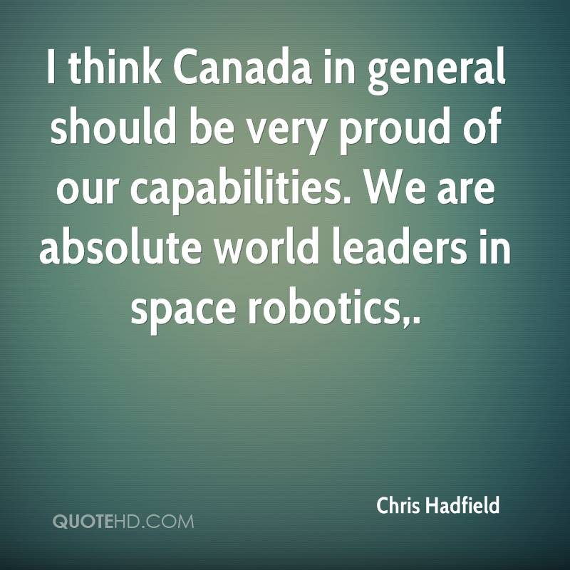 Chris Hadfield Quotes Quotehd