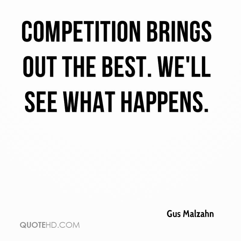 Does competition bring out the worst in people?