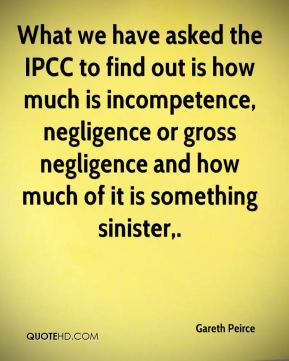 Gareth Peirce - What we have asked the IPCC to find out is how much is incompetence, negligence or gross negligence and how much of it is something sinister.